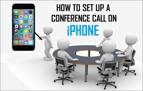 Set Up Conference Call on iPhone