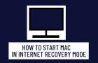 Start Mac In Internet Recovery Mode