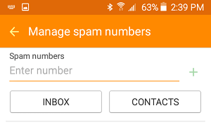 Add Spam Numbers to Spam List On Android Phone