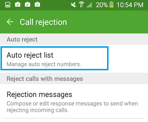 auto-reject-list-android-phone