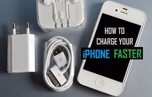 Charge iPhone Faster