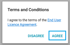 End User Licence Agreement Samsung Phone