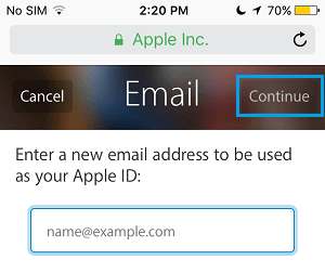 how to change your apple id on your ipad