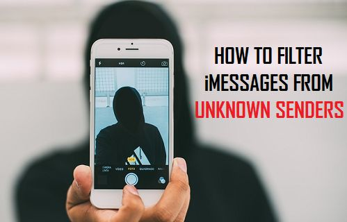 How to Filter iMessages From Unknown Senders