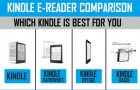 Kindle E-Reader Comparison | Which Kindle to Buy