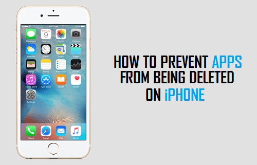 Prevent Apps From Being Deleted on iPhone or iPad