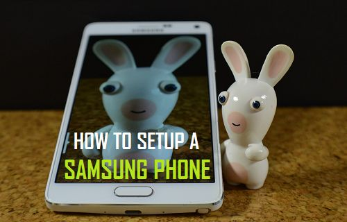 How to Setup New Samsung Galaxy Phone