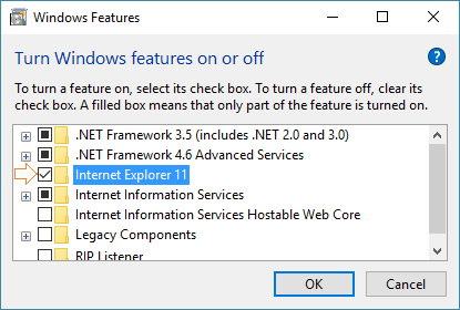 How to Install Internet Explorer On Windows 10