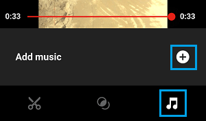 Add Music to YouTube Video On iPhone