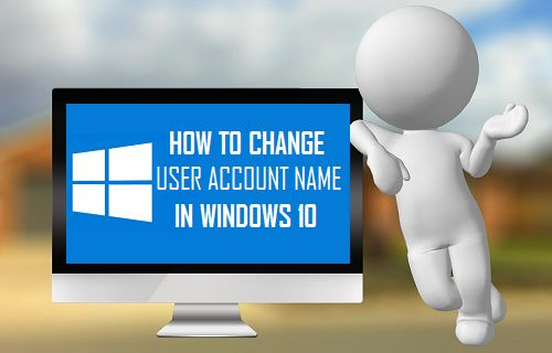 Change User Account Name in Windows 10