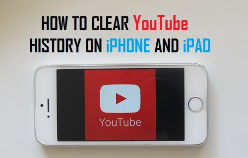 Clear YouTube History on iPhone and iPad