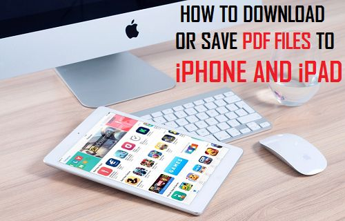How to Download Or Save PDF Files to iPhone and iPad