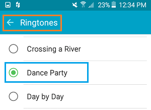 how to buy ringtones on android