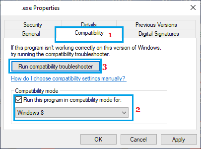 Run Microsoft Office in Compatibility Mode