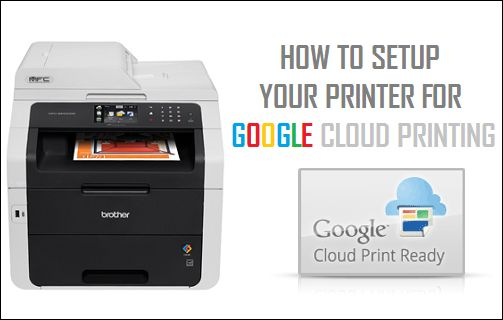 Set Up Your Printer For Google Cloud Printing