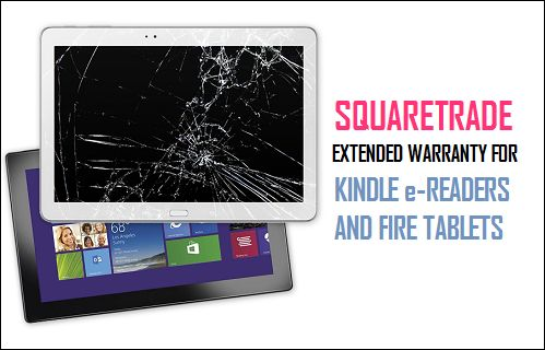 SquareTrade Extended Warranty For Kindle and Fire Tablets