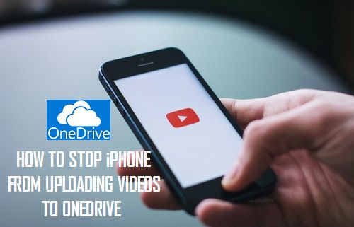 Stop iPhone From Uploading Videos to OneDrive