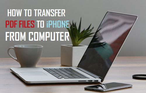 Transfer PDF Files to iPhone From Computer