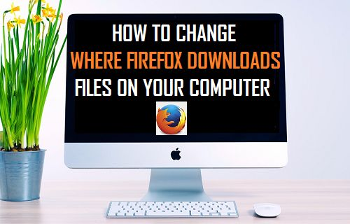 how to change where firefox downloads files to