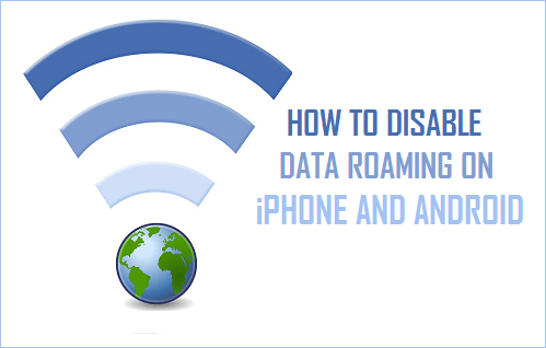 Disable Data Roaming on iPhone and Android