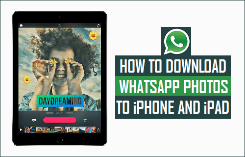 Download WhatsApp Photos to iPhone and iPad