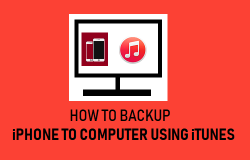Backup iPhone to Computer Using iTunes