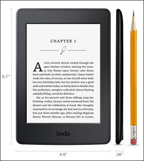 Amazon Kindle Paperwhite Dimensions