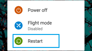 Restart Android Phone