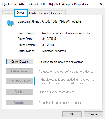 Qualcomm Atheros Wifi Driver For Windows 10