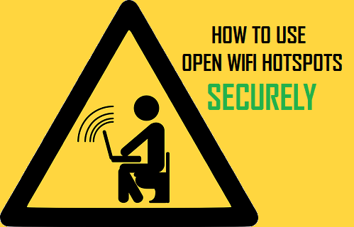 How to Use Open WiFi Hotspots Securely