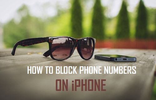 Block Phone Numbers On iPhone