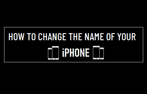 Change the Name of Your iPhone