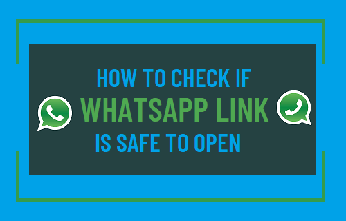 Check If WhatsApp Link is Safe to Open