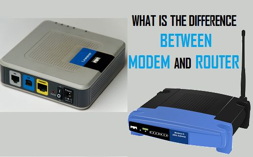What is the Difference Between Modem and Router