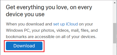 How to Download All Photos From iCloud to PC