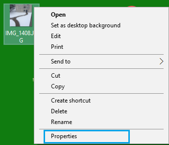 View Image File Properties On Windows Computer