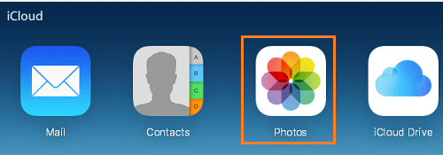 Photos Option in iCloud Drive