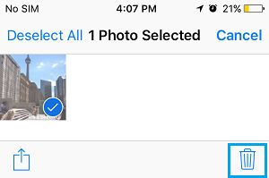 Remove Photos from Shared iCloud Album