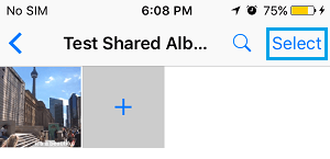 Select Photos to Delete From iCloud Shared Album