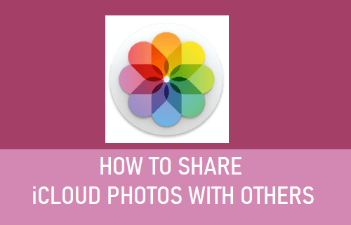 Share iCloud Photos With Others
