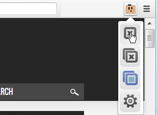 Browser Options in The Great Suspender Extension