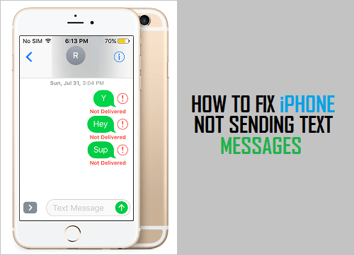 iphone not sending texts how to fix iphone not sending text messages 4253