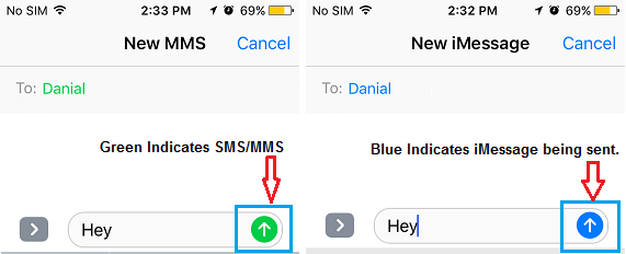 iphone green messages why are imessages green and blue on iphone 11903
