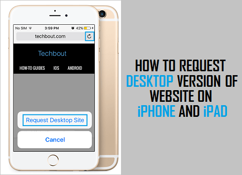 Request Desktop Version of Website On iPhone and iPad