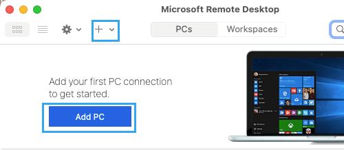 ADD Remote PC