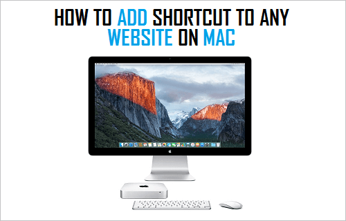 Add Shortcut to Any Website on Mac