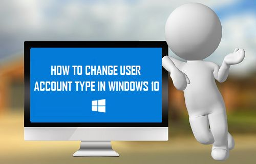 Change User Account Type in Windows 10
