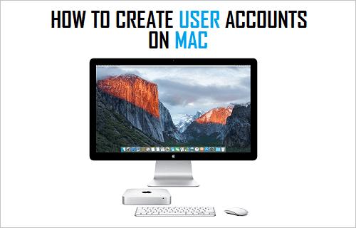 How to Create User Accounts On Mac
