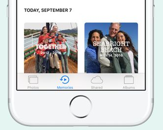 iOS 10 New Photos App