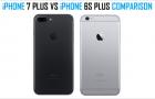 iPhone 7 Plus vs iPhone 6s Plus Comparison